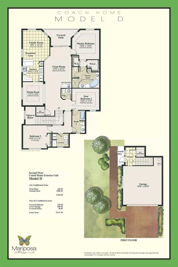 coachd Naples Coach Homes Floor Plans on naples real estate, naples food, naples hotel,